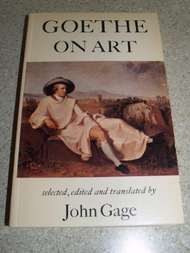 9780520039964: Goethe on Art