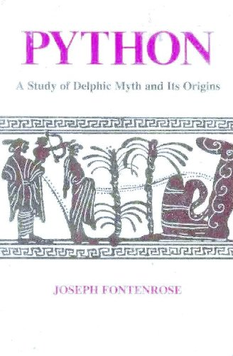 9780520040915: Python: A Study of the Delphic Myth and Its Origin (California Library Reprint)