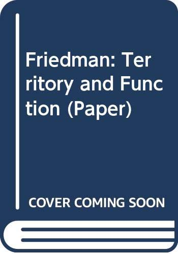 9780520041059: Territory & Function: The Evolution of Regional Planning