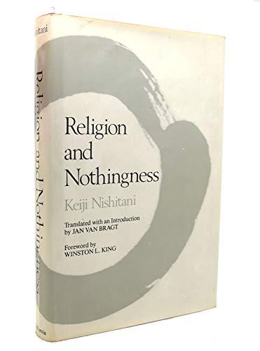 Religion and Nothingness (Nanzan Studies in Religion and Culture): Keiji Nishitani
