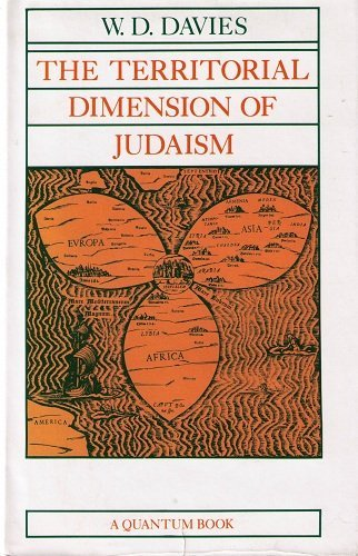 9780520043312: The Territorial Dimension of Judaism (Quantum Books)