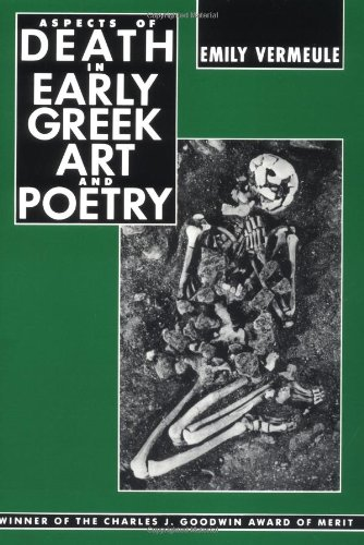 9780520044043: Aspects of Death in Early Greek Art and Poetry (Sather Classical Lectures)