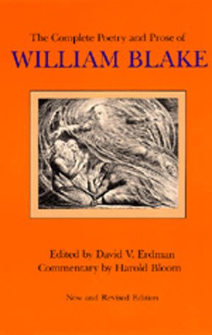 9780520044739: The Complete Poetry and Prose of William Blake, Newly Revised Edition