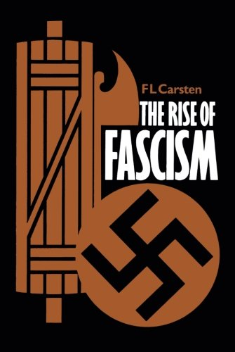 9780520046436: The Rise of Fascism, Second edition