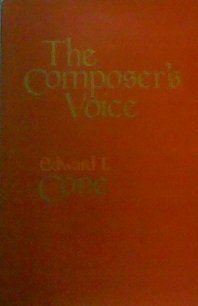 9780520046474: The Composer's Voice (Ernest Bloch Lectures)