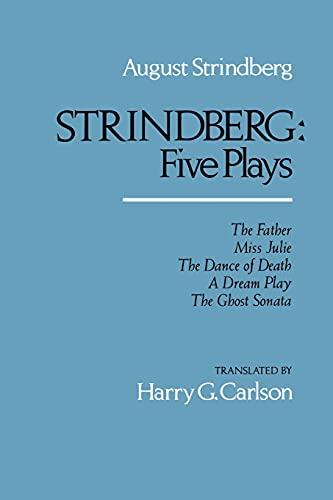 9780520046986: Strindberg: Five Plays