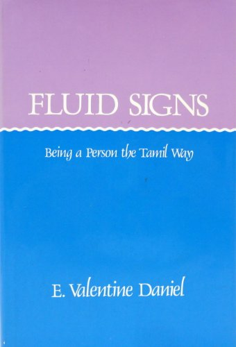 9780520047259: Fluid Signs: Being a Person the Tamil Way