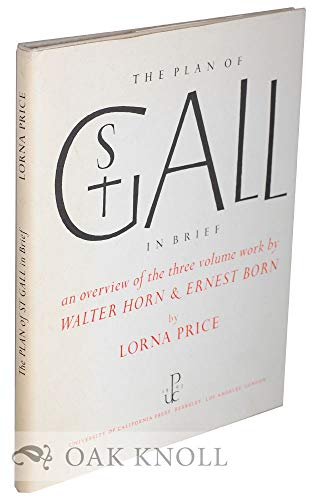 The Plan of St Gall in Brief: Price, Lorna