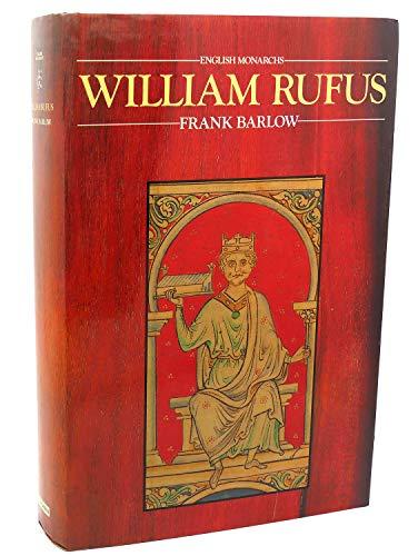 9780520049369: William Rufus (ENGLISH MONARCHS)