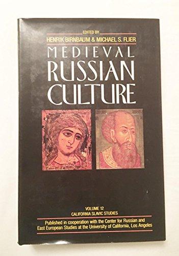 9780520049383: 012: Medieval Russian Culture: California Slavic Studies XII