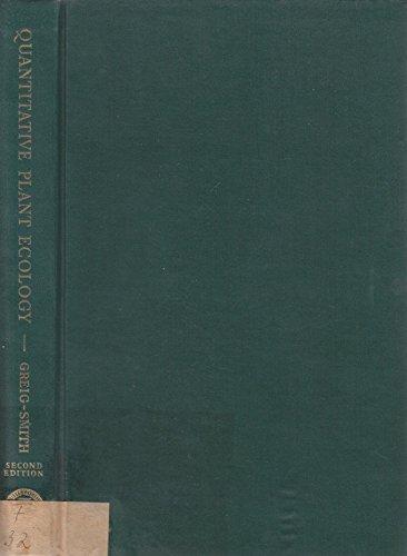 9780520049895: Quantitative Plant Ecology (Studies in Ecology, V. 9)