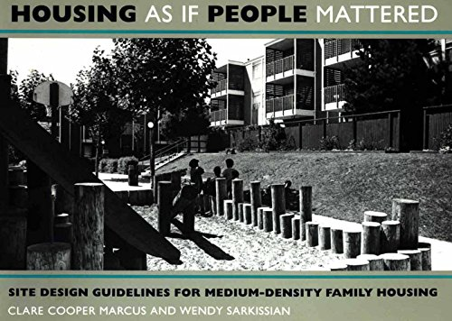 9780520050440: Housing as if People Mattered: Site Design Guidelines for the Planning of Medium-Density Family Housing