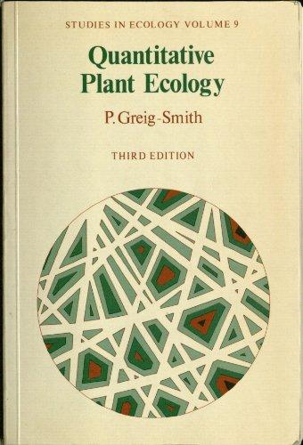 9780520050808: Quantitative Plant Ecology (Studies in Ecology, V. 9)