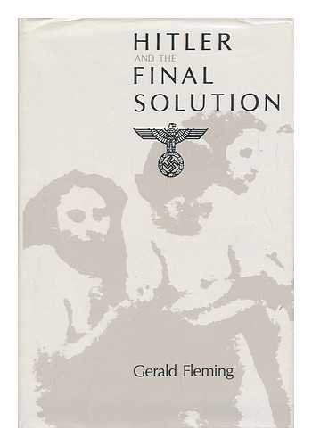9780520051034: Hitler and the Final Solution (English and German Edition)