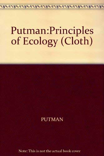 9780520052352: Putman:Principles of Ecology (Cloth)