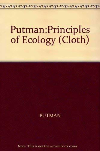 9780520052352: Putman:Principles of Ecology (Cloth)