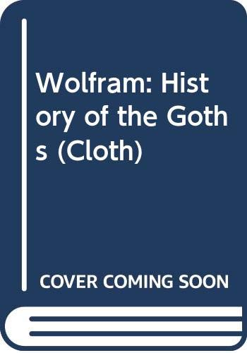 9780520052598: History of the Goths (English and German Edition)