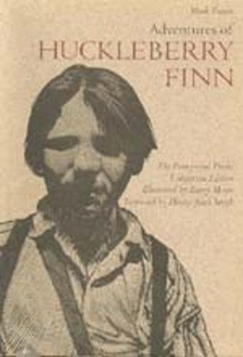 THE ADVENTURES OF HUCKLEBERRY FINN.: TWAIN.MARK