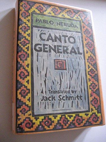9780520054332: Canto General (Latin American Literature & Culture)