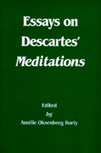 9780520055094: Essays on Descartes' Meditations (Philosophical Traditions)