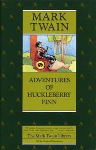 Adventures of Huckleberry Finn (Mark Twain Library): Twain, Mark; Blair,
