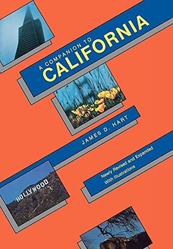 9780520055445: A Companion to California