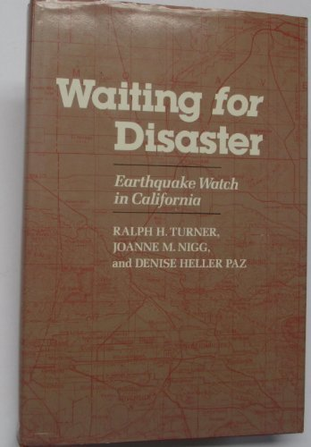 9780520055506: Waiting for Disaster: Earthquake Watch in California