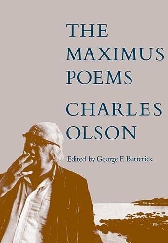 The Maximus Poems: Charles Olson