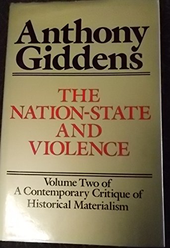 9780520056350: Giddens: Nation-State & Violence