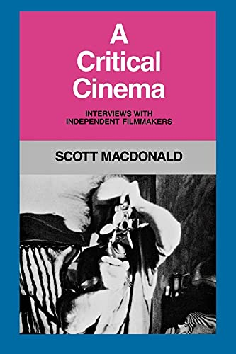 9780520058019: A Critical Cinema: Interviews with Independent Filmmakers (Bk. 1)