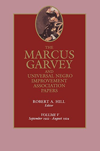 9780520058170: The Marcus Garvey and Universal Negro Improvement Association Papers, Vol. V: September 1922-August 1924