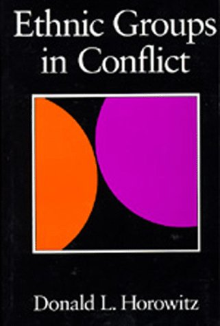 9780520058804: Ethnic Groups in Conflict