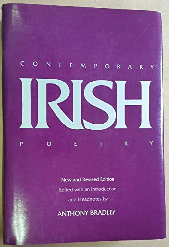 9780520059276: Contemporary Irish Poetry, New and Revised editon