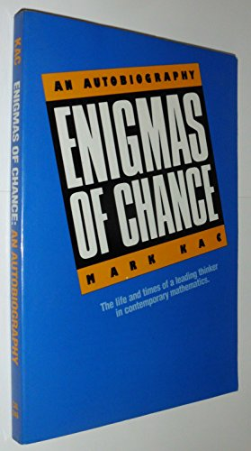 9780520059863: Enigmas of Chance: An Autobiography