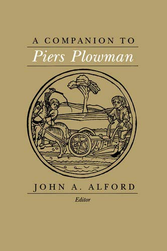 9780520060074: A Companion to Piers Plowman