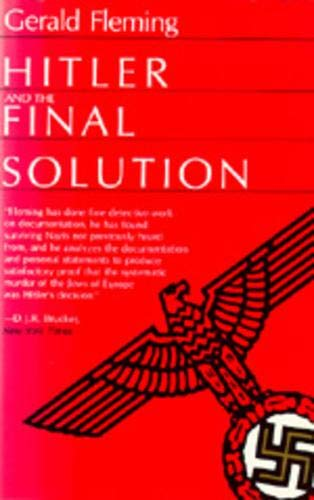 9780520060227: Hitler and the Final Solution