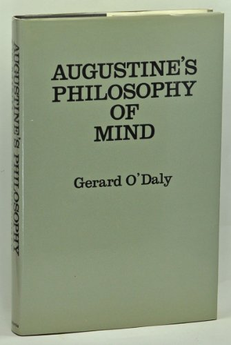 9780520060692: Augustine's Philosophy of Mind