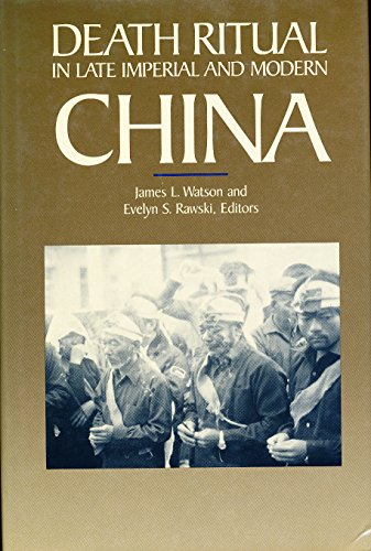 9780520060814: Death Ritual in Late Imperial and Modern China (Studies on China)