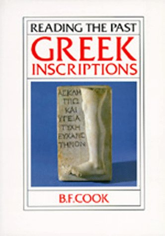 9780520061132: Greek Inscriptions (Reading the Past)