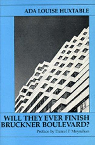 9780520062054: Will They Ever Finish Bruckner Boulevard?