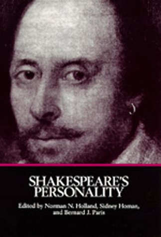 9780520063174: Shakespeare's Personality