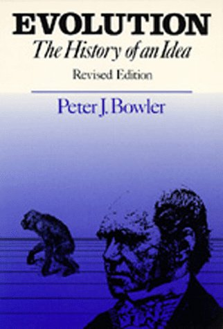 9780520063860: Evolution: The History of an Idea, Revised edition