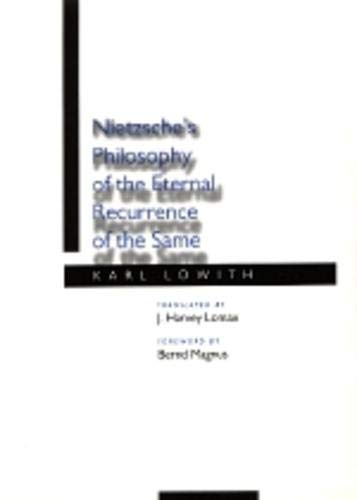 9780520065192: Nietzsche's Philosophy of the Eternal Recurrence of the Same
