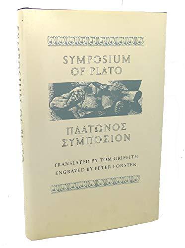 9780520066946: Plato: Symposium of Plato (Cloth): [Platonos Symposion]