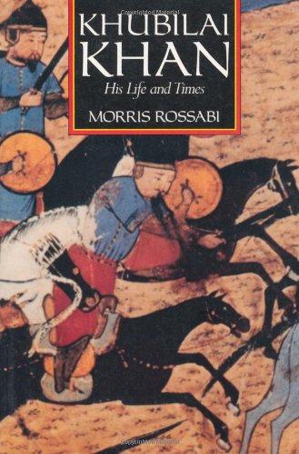 9780520067400: Khubilai Khan: His Life and Times (English and Chinese Edition)