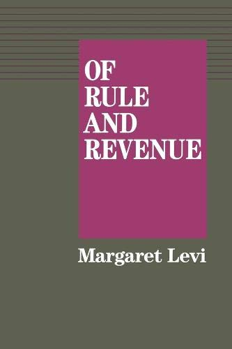 9780520067509: Of Rule and Revenue (California Series on Social Choice and Political Economy)