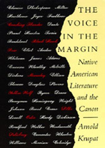 9780520068278: The Voice in the Margin: Native American Literature and the Canon