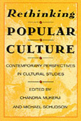 9780520068933: Rethinking Popular Culture: Contemporary Perspectives in Cultural Studies