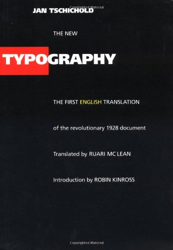9780520071476: The New Typography (Weimar and Now: German Cultural Criticism)