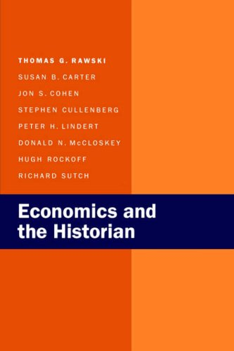 9780520072695: Economics and the Historian